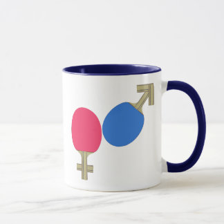 Mars Venus Ping Pong Mug