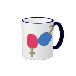 Mars Venus Ping Pong Ringer Mug