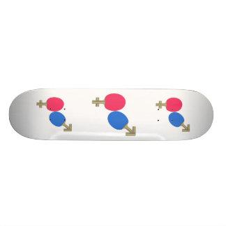 Mars Venus Ping Pong Skateboard