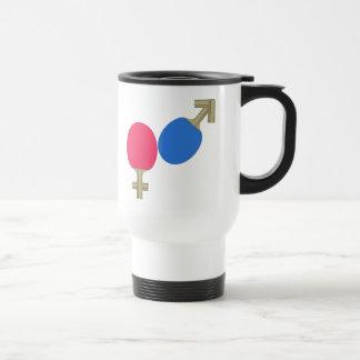 Mars Venus Ping Pong Travel Mug