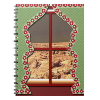 Mars View Notebook