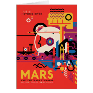 Mars - Visit the Historic Sites Card