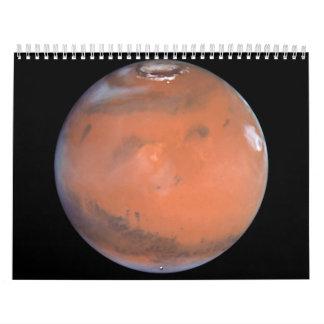 Mars' Volcanic Elysium Region Wall Calendar
