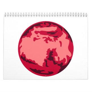 Mars Calendar
