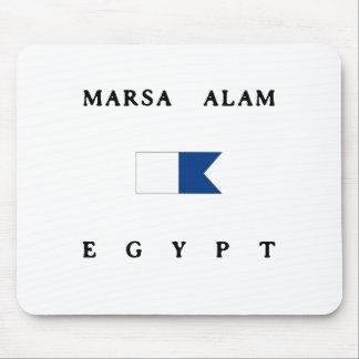 Marsa Alam Egypt Alpha Dive Flag Mouse Pad