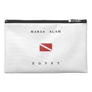 Marsa Alam Egypt Scuba Dive Flag Travel Accessory Bag