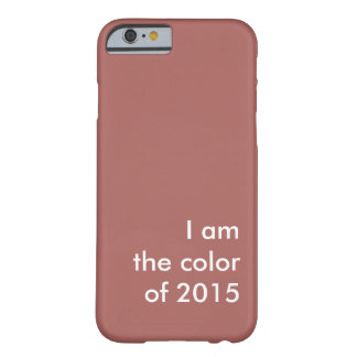 Marsala Barely There iPhone 6 Case