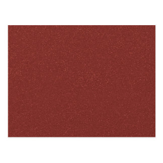 Marsala Color of the Year with faux fine Glitter Postcard