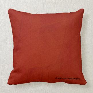 Marsala Faux Finish Pattern Throw Pillow