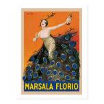 Marsala Florio Tarjeta Postal