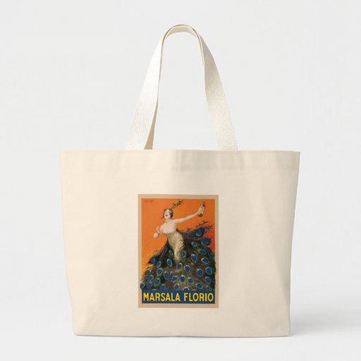 Marsala Florio Tote Bags