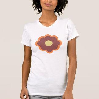 Marsala Flower T Shirt