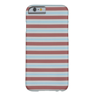 Marsala - Glacier Grey - Aquamarine Barely There iPhone 6 Case