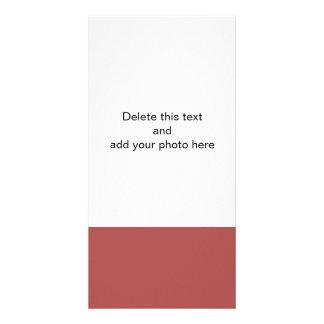 Marsala High End Solid Color Card