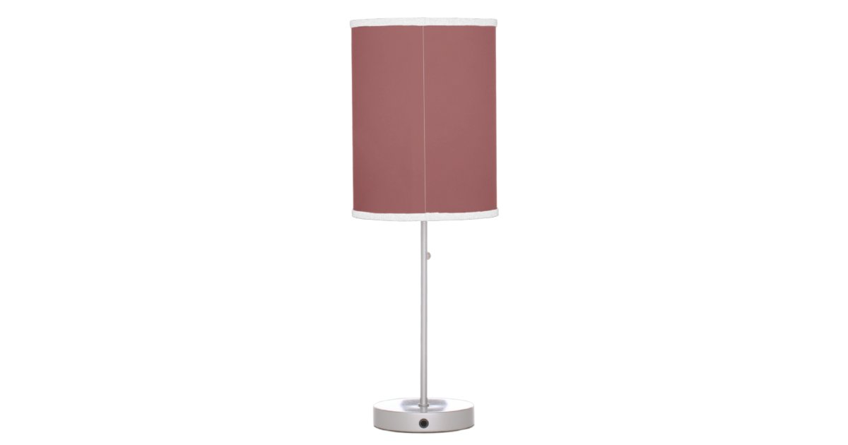 Marsala Spring 2015 Solid Color Table Lamp