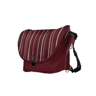 Marsala Stripes Messenger Bag