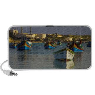 Marsaxlokk Boats PC Speakers