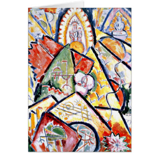 Marsden Hartley - Musical Theme Card