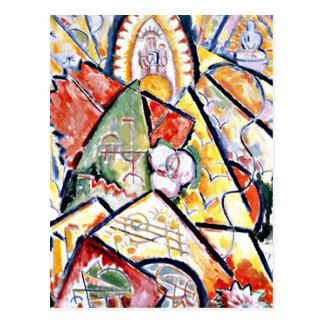 Marsden Hartley - Musical Theme Postcard