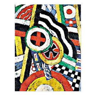 Marsden Hartley - The Number 5 Postcard