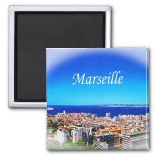 Marseille 2 Inch Square Magnet