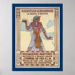 Marseille - Alexandrie ~ La Route D'Egypte Poster