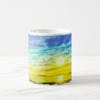 Marseille Beach Sunset Coffee Mug