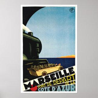 Marseille / Marseille - Cote D Azur France Travel Print
