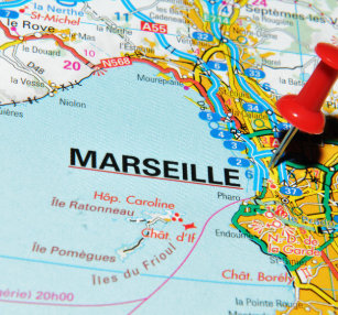 Marseille France Map Gifts On Zazzle