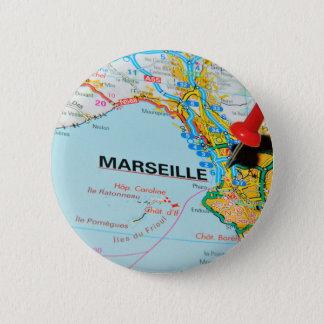 Marseille, Marseilles, France Pinback Button