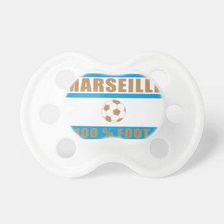 Marseilles football pacifier