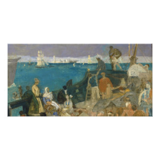 Marseilles, Gateway to the Orient by Puvis Card