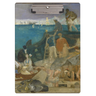 Marseilles, Gateway to the Orient by Puvis Clipboard