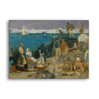 Marseilles, Gateway to the Orient by Puvis Envelope