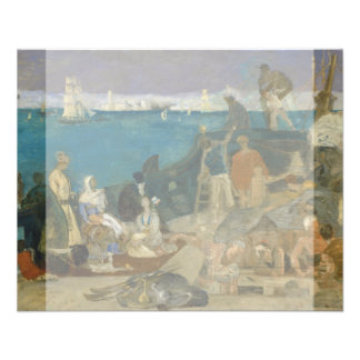 Marseilles, Gateway to the Orient by Puvis Flyer