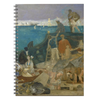 Marseilles, Gateway to the Orient by Puvis Spiral Note Book