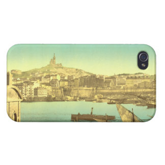 Marseilles Harbour I, France iPhone 4/4S Covers