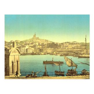 Marseilles Harbour I Postcard