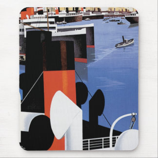 Marseilles Poster Mouse Pad