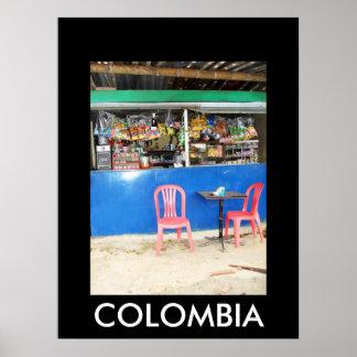 MARSELLA, COLOMBIA PRINT