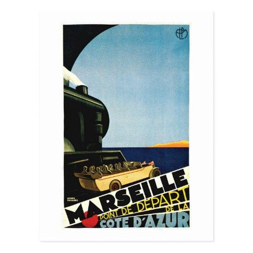Marsella/viaje de Marsella - de Cote D Azur Franci Tarjetas Postales