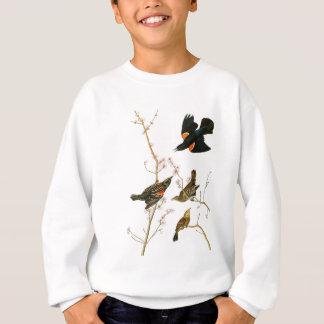 Marsh Blackbird John Audubon Birds of America Sweatshirt