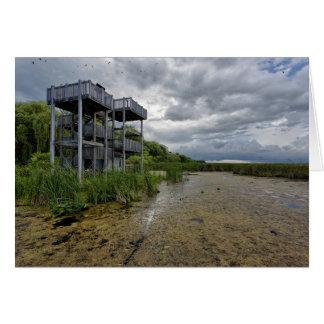Marsh Boardwalk Viewing Tower - West Card