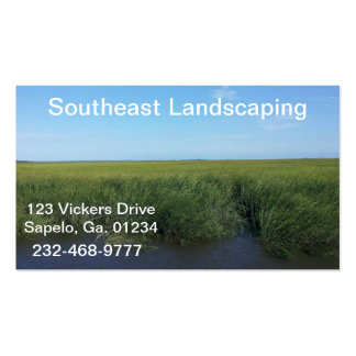 Marsh Business Card Template