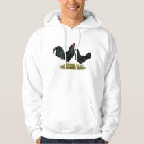 Marsh Daisy Chickens Hoodie
