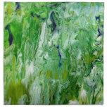 Marsh Faeries Abstract Cloth Napkins