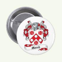 Marsh Family Crest Button
