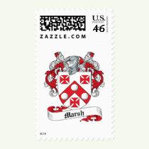 Marsh Family Crest Stamps