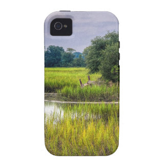Marsh Fence Line Case-Mate iPhone 4 Cover