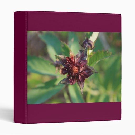 Marsh Flower Vinyl Binder